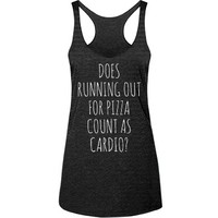 running out pizza cardio: Girly Growl
