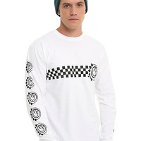 Blink 182 Checkered Long-Sleeve T-Shirt