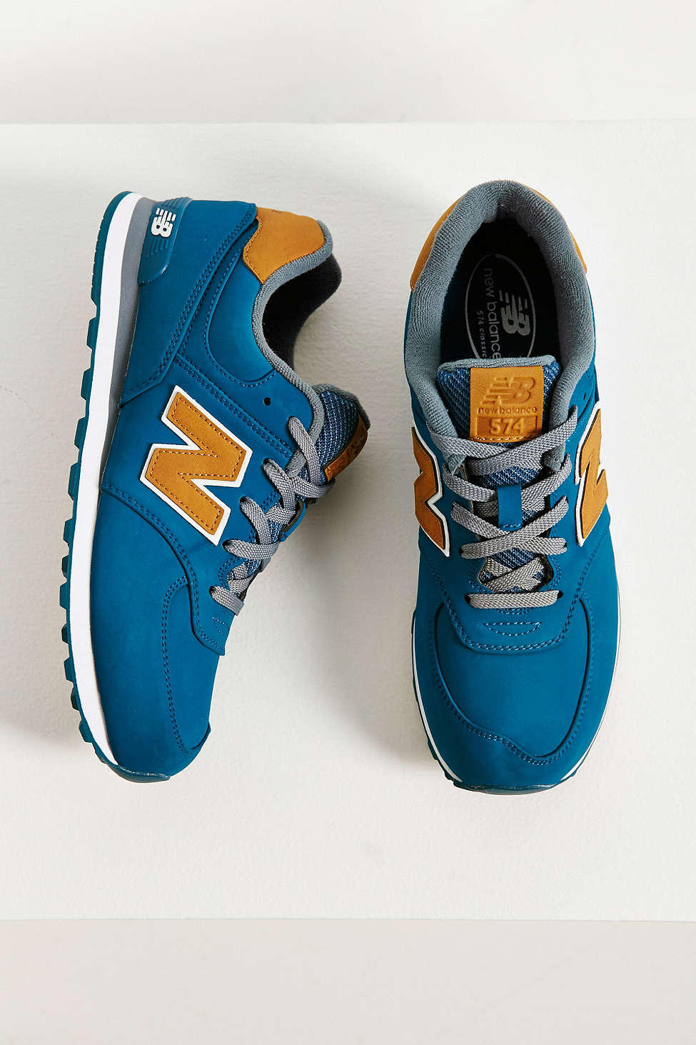 sale retailer f1e28 2f0e0 New Balance 574 Lux Sneaker - Urban from Urban Outfitters