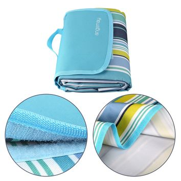 Angemay Outdoor & Picnic Blanket Extra Large Rainproof and Waterproof Portable Beach Mat For Camping Hiking Festivals