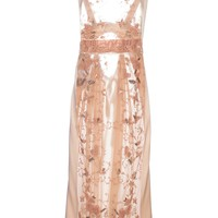 Antonio Marras Vintage Sequined Semi-Sheer Dress