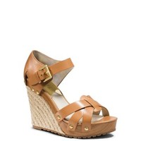 Somerly Leather Espadrille Wedge | Michael Kors