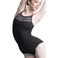 Capezio MC812W Diamond Halter Leotard