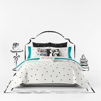 kate spade new york 'deco dot' comforter set,