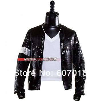 Classic  Cosplay  Michael  Jackson  BILLIE  Jacket