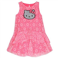 HELLO KITTY Girls 4-6X Summer-k3084751