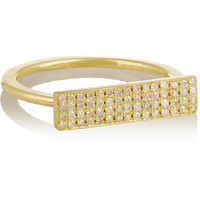 Jennifer Meyer - 18-karat gold diamond ring