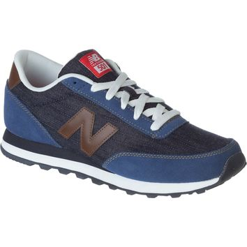 New Balance 501 Vintage Indigo Shoe - Men's Ink Blue/Brown,
