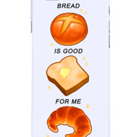 PRE-ORDER Bread is good for me iphone case