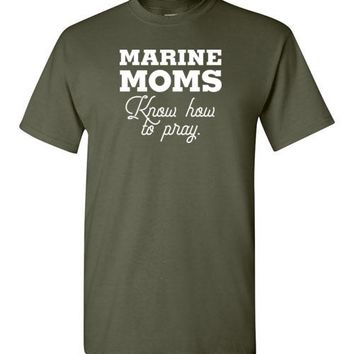 Marine Moms Know How to Pray