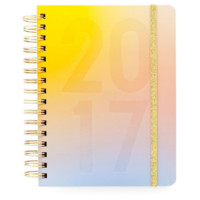 ban.do 17 month medium agenda - magic hour , ombre planner