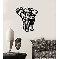 Wall Stickers Vinyl Decal Elephant Animal Coolest Room Home Decor Unique Gift (ig813)