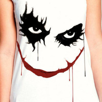 Joker II T-Shirt , White T-Shirt , lady T-Shirt , Women T-Shirt , Crazy T Shirts , Tattoo Shirts,man T-shirt