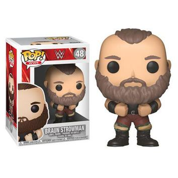 Preorder July 2018 WWE Braun Strowman Pop! Vinyl Figure #48