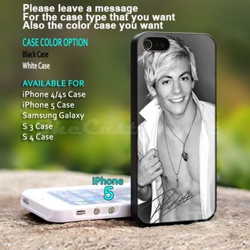 Ross Lynch signature- For iPhone 5 Black Case Cover