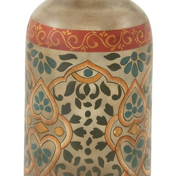 Exquisite Glass Painted Bottle