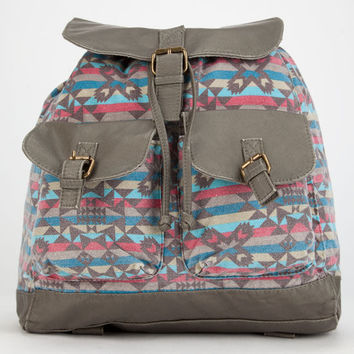 T-Shirt & Jeans Alyssa Aztec Backpack Gray One Size For Women 26703711501