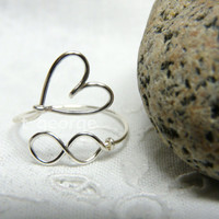 Infinity Love Wire Ring (Unending Love Ring)
