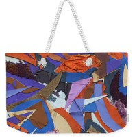 Paper Circus Weekender Tote Bag for Sale by Shawna Rowe