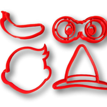 Curious George Inspired Cookie Cutter Set