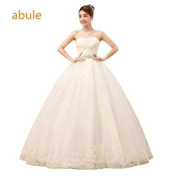 587a8c662be abule Sweetheart Pleat Rhinestone Embellished Court Train Hi Low