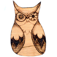 Owl Wall Hanging ready to ship. Pyrography (Wood burning), Owl Wall art, wood carving, pyrography owl art, Owl decor, british wildlife, gift