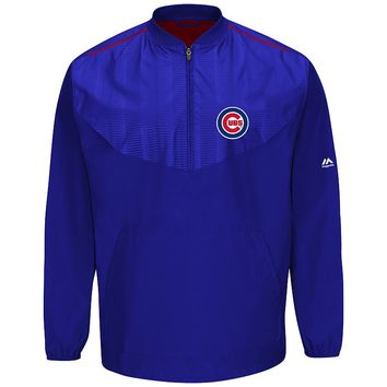 Majestic Chicago Cubs On-Field Cool Base Training Jacket