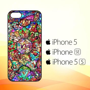 DISNEY ALL CHARACTERS V0094  iPhone 5|5S|SE Case