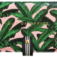 Out Of Office Travel Document Wallet in Tropical Leaves