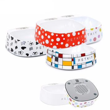 Pet Color Print Smart Bowl - 4 Colors