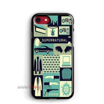 Supernatural iPhone Cases Collage Art Samsung Galaxy Phone Cases Art iPod cover