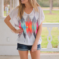 Your True Colors Top, White