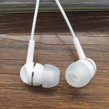 high quality 3.5mm earphones Clear sound Earphone With Microphone for Mobile Phone Xiaomi Samsung iPhone