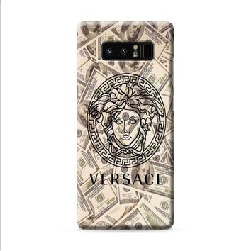 versace logo money Samsung Galaxy Note 8 case