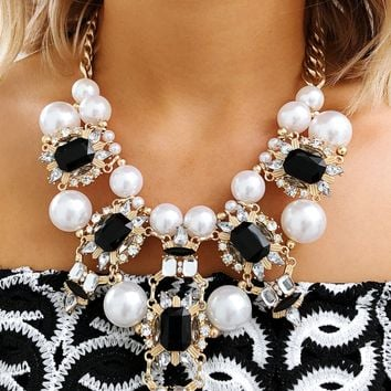 Classy Touch Necklace: Multi