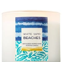 3-Wick Candle White Sand Beaches