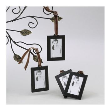 Set of 4 Aluminum Hanging Wallet Size Frames