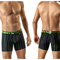 51356 Microfiber Boxer Color Black