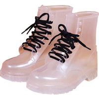 CLEAR BOOTS from Storeunic