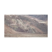 Rocks at Death Valley National Park Wrapped Canvas