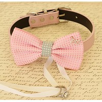 Gray and Pink Dog Bow Tie ring bearer, Proposal