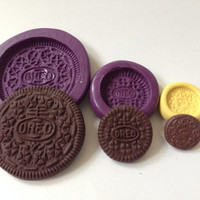 Regular/Small/Mini Size Oreo Silicone Flexible Mold (3 Sizes)