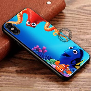 Hank And Dory iPhone X 8 7 Plus 6s Cases Samsung Galaxy S8 Plus S7 edge NOTE 8 Covers #iphoneX #SamsungS8