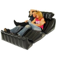 BD21 Multi-Position Inflatable Chair - Double Wide (4 Wedges = 1 Chair):Amazon:Home & Kitchen