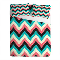 DENY Designs Home Accessories | Jacqueline Maldonado Chevron Bold Sheet Set