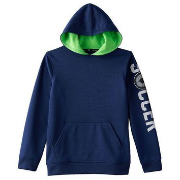 CREY7GX Tek Gear Performance Fleece Hoodie - Boys 8-20 Size