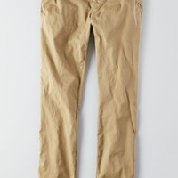 AEO Men's Super Skinny Active Flex Pant (Cavalry Khaki)