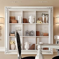 Open floating bookcase GLAMOUR Glamour Collection by Gotha Luxury Italian Style