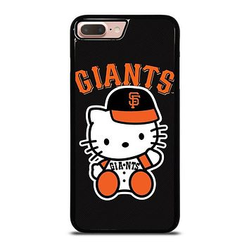 HELLO KITTY SAN FRANCISCO GIANTS iPhone 8 Plus Case Cover