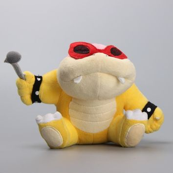 "Super Mario Koopaling Roy Koopa Plush Toys Stuffed Soft Toys 6"" 15 CM"